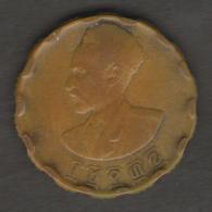 ETIOPIA 25 CENTS EE1936 - Etiopia