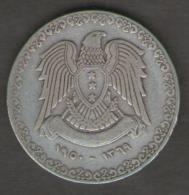SIRIA 1 LIRA 1950 AG SILVER - Siria