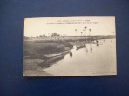 Afrique Occidentale, Soudan: Carte Postale Ancienne- De Koulikoro à Tombouctou- Bords Du Niger - Sudan