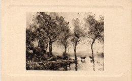 Paysage Avec Vaches - COROT     (91465) - Peintures & Tableaux