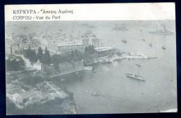 Cpa De Grèce Corfou - Vue Du Port    JIP8 - Grecia