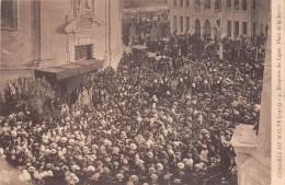 ¤¤  -    Congrès De MALTE En 1913  -  Réception Du Légat, Place De La Sarria      -   ¤¤ - Malte