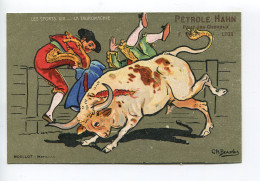 BEAUVAIS Tauromachie Publicité Pétrole Hahn - Beauvais