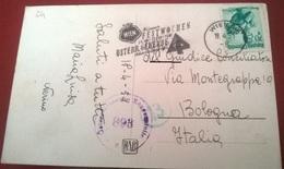 """TIMBRO POSTALE SU CARTOLINA """"WIEN WIENER FEST WOCHEN OSTERR. GEWERRE 26 MAI 17 JUNI 1951 AUSTRIA"""" - Timbri Generalità"""