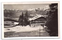 CPSM Photo Alpengasthof Grafenast Alpenhof Schwaz Tirol Tyrol éditeur Oskar Krelbich - Schwaz