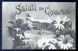 Cpa D' Italie - Saluti Da Chiavari -- Avec Cachet Postal Posto Di Ristoro Stazione Di Chiavari   JIP8 - Italie