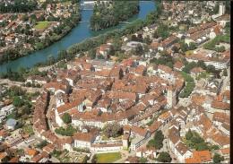Postcard, Switzerland, Aarau, Birdeye, View From The Air,  Unused - AG Argovie