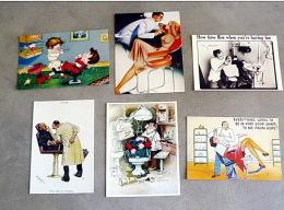 LOT RETIRAGE  PHOTOS DENTISTE THEME SUR LES DENTISTES ..HUMOUR ..PUBLICITE ETC !! ! - Reproductions