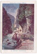 Chromo Fiche Illustrée Collection Hugo D'Alési PLM Dauphiné Route De La Grande Chartreuse - Géographie