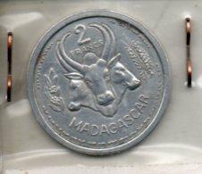 Madagascar. 2 Francs. 1948 - Madagascar