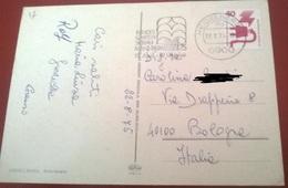"TIMBRO POSTALE SU CARTOLINA ""BUNDES GARTEN SCHAU MANNHEIM 18 APRIL - 12 OKTOBER 1975 GERMANIA"" - Timbri Generalità"