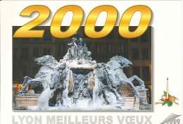 CPM 69 - Lyon - Fontaine Bartholdi - An 2000 - Lyon
