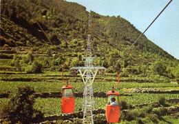 Valls D'Andorra - Telecabina A L'Estany D'Engolasters - Transport - N° 1.186 - Andorra
