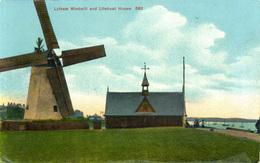 LANCS - LYTHAM - WINDMILL AND LIFEBOAT HOUSE La2892 - Unclassified