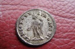 Galère Bronze Revers Cenio Populi Romani - 6. La Tétrarchie (284 à 307)