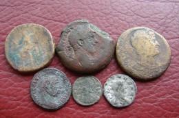 Lot De 5 Romaines à Identifier - Romaines
