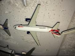 - HERPA AIRBUS A 319 NUOVO BELLISSIMO BRITISH AIRWAYS UNITED KINGDOM ! - Aerei E Elicotteri
