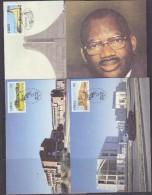 Ciskei 1984 5th Year Of Independance 4v 4 Maxicards (32397) - Ciskei
