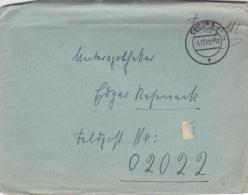 Feldpost WW2: To France - 3. Leichtkranken-Kriegs-Lazarett Kriegs-Lazarett Abteilung 612 FP 02022 P/m Coburg 3.12.1940 - - Militaria