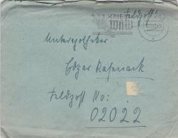 Feldpost WW2: To France - 3. Leichtkranken-Kriegs-Lazarett Kriegs-Lazarett Abteilung 612 FP 02022 P/m Coburg 6.12.1940 - - Militaria