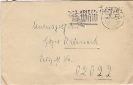 Feldpost WW2: To France - 3. Leichtkranken-Kriegs-Lazarett Kriegs-Lazarett Abteilung 612 FP 02022 P/m Coburg 26.11.1940 - Militaria