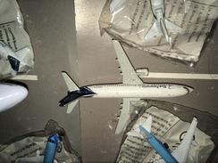 - HERPA 1:500 BOEING 737 SIEMENS  PERFETTO ! - Aerei E Elicotteri