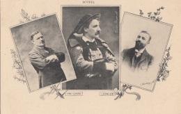 Célébrités - Bretagne - Botrel - Yan Nibor - Lapauze -  Musique Poésie - Ecrivains