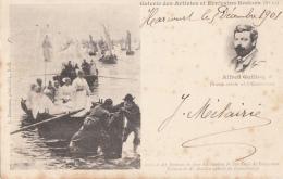 Célébrités - Bretagne - Alfred Guillou - Peintre Concarneau - Religion Bannière - Marins - Ecrivains