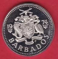 Barbades - 25c - 1974 - Barbados