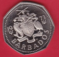 Barbades - 1 $  - 1973 - Barbades