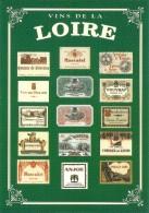 VINS DE LA LOIRE COLLECTION PRIVEE CARTEXPO REPRODUCTION INTERDITE N° 10139 - Advertising