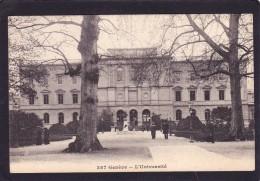 Antique Old Post Card Of L`University,Geneve,Genoa, Liguria, Italy..Posted,J45. - Genova