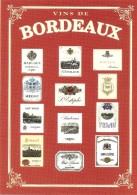 AFFICHE VINS DE BORDEAUX COLLECTION PRIVEE CARTEXPO REPRODUCTION INTERDITE N° 10137 - Advertising