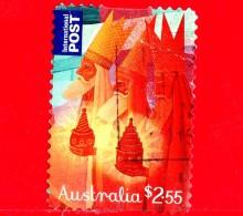 AUSTRALIA  - Usato - 2015 - Natale - Christmas - Magi - Three Wise Men - Autoadesivo - 2.55 - 2010-... Elizabeth II