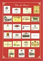 VINS DE FRANCE COLLECTION PRIVEE CARTEXPO REPRODUCTION INTERDITE N° 10145 - Advertising