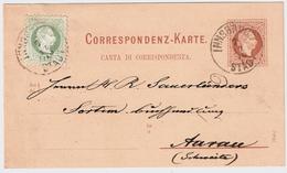 1876, Ausland GA , #6160 - Briefe U. Dokumente