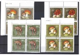 KUR110  ALBANIEN 1990  MICHL  2431/34 ECKRAND VIERERBÖCKE Used / Gestempelt SIEHE ABBILDUNG - Albanien