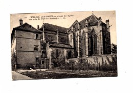 Carte Luxeuil Abside Eglise Cachet Luxeuil Sur Dulac - Luxeuil Les Bains