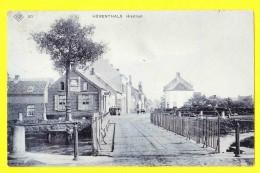 * Herentals - Hérenthals (Antwerpen - Anvers) * (SBP, Nr 20) Hikstraat, Paserelle, Pont, Canal, Quai, TOP, Unique, Old - Herentals