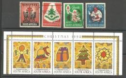ICE18--  ITALIA,CHIUDI LETTERA, ESTERI,     SOUTH AFRICA,    NATALE,  1945---1954, - Navidad