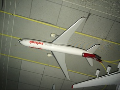 HERPA 1:500 SWISSAIR MD-11 ASIA ! - Aerei E Elicotteri