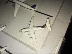 - SCABAK SCALA 1:600 AVRO RJ85 LUFTHANSA RARISSIMO - Aerei E Elicotteri