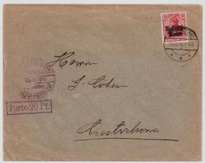 """Porto-Stp. 1916, """" Centschstochau """" , #6176 - ....-1919 Übergangsregierung"""