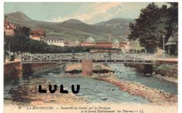 DEPT 63 : La Bourboule , Passerelle  Du Casino Dur La Dordogne - La Bourboule