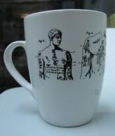 AC - RADZINOWICZ LIBRARY INSTITUTE OF CRIMINOLOGY UNIVERSITY OF CAMBRIDGE PORCELAIN MUG - CUP FROM TURKEY - Cups