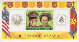 Zaire 1980 Salvation Army / L´Armee Du Salut M/s ** Mnh (32410) - Zaïre