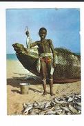 Afrique Sahara Espagnol Retour De Peche Publicité Marinol Laboratoire Biomarine Photo Michel Huet 2 Scan - Sahara Occidentale