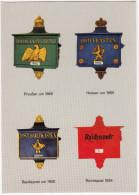 Briefkästen : Preußen Um 1865, Hessen Um 1865 , Reichspost Um 1900 & 1934- (D) - Post