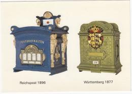 Briefkästen :  Reichspost 1896 & Württemberg 1877 -  (D) - Post