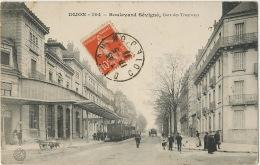 Gare Des Tramways  Dijon  Boulevard De Sévigné Envoi à Rosey Par St Desert - Tram